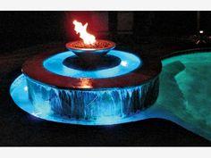 Pool Lighting - Home and Garden Design Idea's