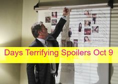 """""""Days of Our Lives"""" spoilers for Friday, October 9, tease that Ben (Robert Scott Wilson) is about to take the life of another victim."""
