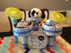 My first Diaper Drum Set