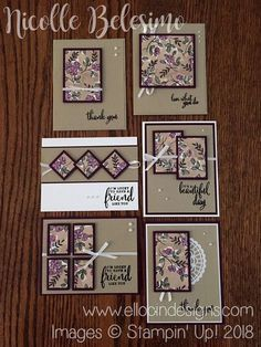 x 6 inch One Sheet Wonder project made with Share What You Love Specialty Designer Series Paper and Love What You Do stamp set from Stampin' Up! Carpe Diem, Love Scrapbook, Scrapbook Paper, Simple Birthday Cards, One Sheet Wonder, Birthday Card Design, Card Sketches, Scrapbook Sketches, Scrapbooking Layouts