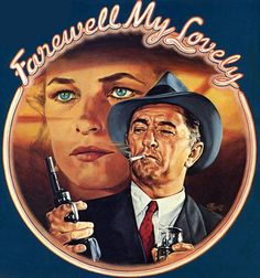Robert Mitchum takes on the role of Philip Marlowe today in 1975