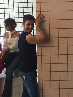 Colin... why must you insist on destroying me with your steely bicep?