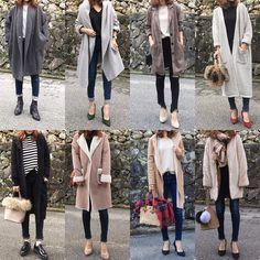 いいね!1,455件、コメント14件 ― @moyooonnのInstagramアカウント: 「✳︎ #スキニーデニム まとめ(*´▽`*) ボリュームトップスや アウターにはやっぱりスキニーが バランス取りやすい♡ #moyoまとめ . .…」 Japan Winter Fashion, Japan Fashion, Work Fashion, Autumn Winter Fashion, Classic Work Outfits, Chic Outfits, Fall Outfits, Fashion Outfits, Skirt Fashion