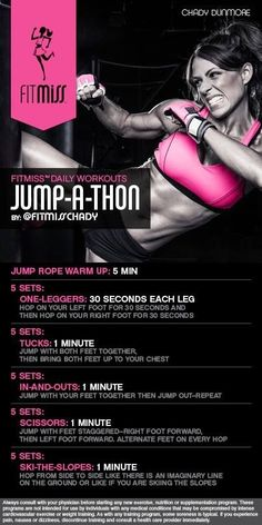 Jump-a-thon workout