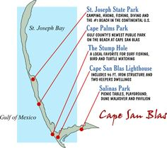 Cape San Blas - Thanks to Gulf County Tourism Development Council http://www.visitgulf.com/