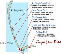 cape san blas florida - last week of June