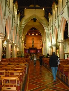 Inside the Christchurch Cathedral before 2011 Earthquake. Christchurch my hometown Auckland New Zealand, Kiwiana, The Beautiful Country, Place Of Worship, Canterbury, Cathedrals, Homeland, Continents, Great Photos