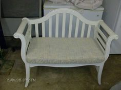 Bench w/ cushion - $69 (munford, tn)