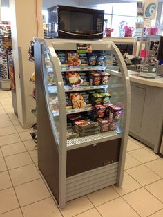 Our OAC-210 low profile open air cooler at the Pharmaprix in Montréal, Québec for Fleury Michon.