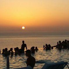 Greek sunset, Ios!