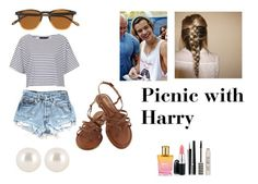 """picnic"" by owelette14 ❤ liked on Polyvore featuring Topshop, Henri Bendel, J.Crew, The Body Shop and Chanel"