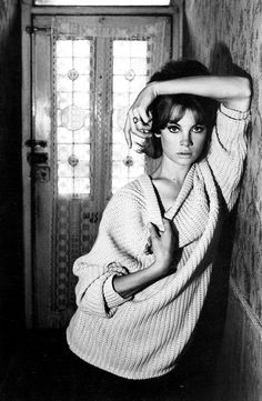 Jean Shrimpton photographed by David Bailey in London, 1960s.