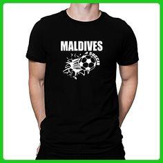 Teeburon Maldives Soccer T-Shirt - Sports shirts (*Amazon Partner-Link)
