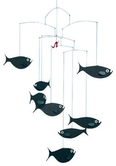 Shoal of Fish Mobile contemporary-mobiles