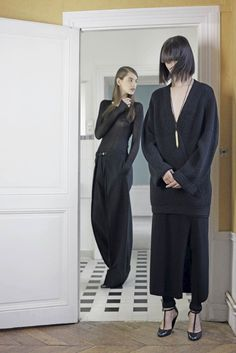 christophe lemaire. fw12. #pfw