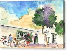 Yaiza 01 Canvas Print by Miki De Goodaboom