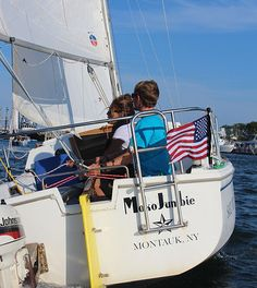 Sponsor one of Sail Montauk's four Catalina 22s in a Regatta race every Tuesday night.Each boat will participate inthree short races, with three crew positions available on each boat. No experience necessary; each boat will have a licensed skipper aboard provided by Sail Montauk. Races are intended to be loose and fun while maintaining the excitement and competitive nature of sailboat racing. Hurricane Alley, Montauk Yacht Club, Sailboat Racing, Set Sail, Lighthouse, Sailing, Cruise, Night, Tuesday