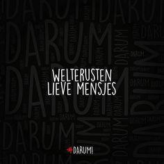 """""""#darum #welterusten #gn"""