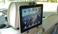 iPad Accessories/ Headrest Mount from Gripdaddy Tech Mounts