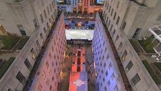 "NBC Rockefeller Plaza ~ NOW ""Democracy Plaza"" #NYC"