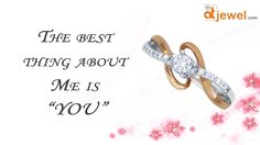 Gift the best part of your life with this adorable Diamond Ring in White and Rose Gold...