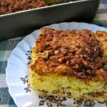 Easy Skinny Low Fat Cinnamon Streusel Coffee Cake Recipe