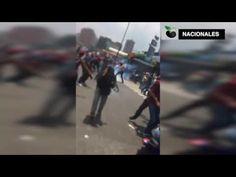 Helicóptero lanzó bombas lacrimógenas contra manifestantes en Caracas