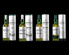 Laphroaig packaging re-designed.  Easily one of the best single malts I have tasted ---- now I want the new packaged bottle.