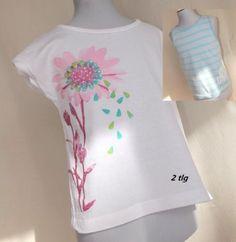Maedchen-Kinder-Kombi-Set-2-Tlg-T-shirt-Top-Gr-110-116-54