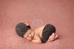Knit Shorts and Cable Beanie Set by goodnightmouse on Etsy, $67.00