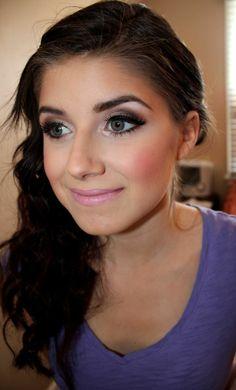 Gorgeous Makeup: Tips and Tricks With Eye Makeup and Eyeshadow – Makeup Design Ideas Natural Makeup For Teens, Natural Makeup Tips, Natural Hair Styles, Beauty Makeup, Eye Makeup, Hair Makeup, Hair Beauty, Prom Makeup, Wedding Makeup