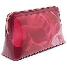 Buy Ted Baker Samms Porcelain Rose Makeup Bag, Maroon Online at johnlewis.com