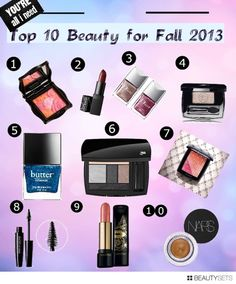 My Top 10 Picks from the Fall 2013 collecitons! Prime Beauty Blog
