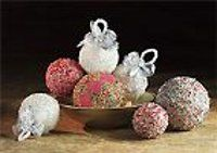Beaded Crystal Ornaments