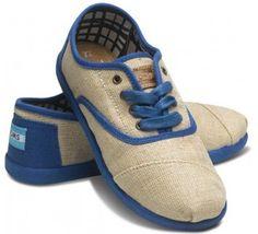 Cool Back to School Kicks: Toms Blue Maddox Cordones.