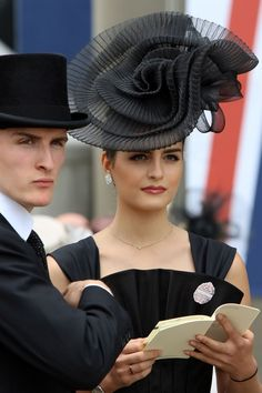 Racegoers At Ascot 2014 - Ascot The Hats, Outfits And Moments You'll Want To See Fascinator Hats, Fascinators, Headpieces, Races Fashion, Fashion Hats, Ascot Hats, Wedding Hats, Wedding Attire, Kentucky Derby Hats