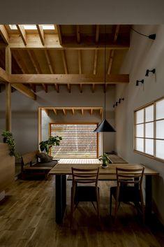 Fragments of architecture — Kojyogaoka House / Hearth Architects Photos © Yuta. Japanese Home Decor, Japanese Interior, Japanese House, Japanese Modern, Shop Interior Design, Interior Decorating, House Design, Condo Living, Dining Nook
