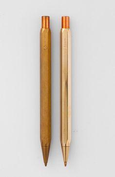 Ystudio Brass Mechanical Pencil from Dwell Store