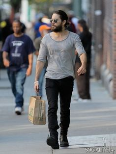 Jared Leto Spotted Out And About In New York City