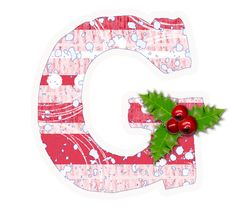 Christmas Frames, Christmas Paper, Xmas, Alphabet Style, Alphabet And Numbers, Christmas Alphabet, Letter G, Santa Sleigh, Recipe Cards