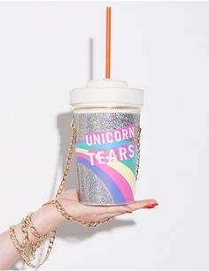 Skinnydip Unicorn Tears Novelty Crossbody Bag #pixiemarket #fashion