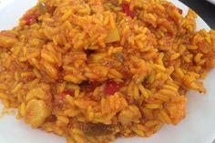 El arroz con bacalao no sólo es un plato fácil y saludable, sino que además es perfecto para la época de cuaresma o Semana Santa, ¡y está buenísimo!