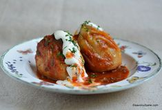 Peppers stuffed in the oven simple and tasty recipe Romanian Food, Meatloaf, Baked Potato, Cooking Recipes, Yummy Food, Stuffed Peppers, Ethnic Recipes, Tasty Recipe, Martha Stewart