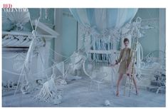 CLM - Set Design - Shona Heath - red valentino ss 13