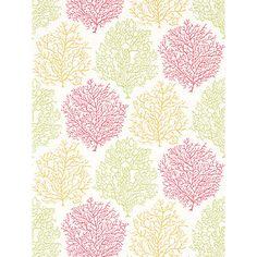 Buy Sanderson Coral Reef Wallpaper Online at johnlewis.com