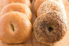 The only and best bagel recipe you will ever need complete with step-by-step instructions. These bagels have a delicious flavor and are perfectly dense and chewy with a lovely outer crust. Bagels, anyone? You got 'em. Egg Bagel Recipe, Southern Caramel Cake, Bread Machine Recipes, Bread Recipes, Best Bagels, Homemade Bagels, How To Make Bread, Bread Making, Recipe Steps