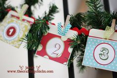 Creative ideas for each day in December as we count down to Christmas!