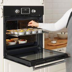 SMAKSAK Forno termoventilato, nero - IKEA IT Ikea, Four Micro Onde, Espresso Machine, Coffee Maker, Kitchen Appliances, Products, Functional Kitchen, Electrical Cable, Traditional Taste