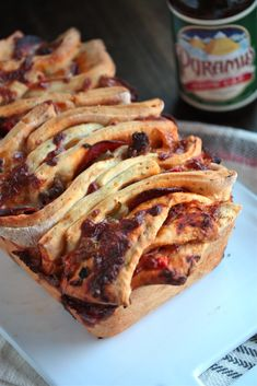 Country Cleaver Supreme Pizza Pull Apart Bread » Country Cleaver