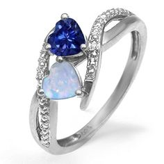 Birthstones with lil diamonds and 14k white gold = $416.53  or  birthstones with lil diamonds and sterling silver = $103.35